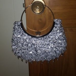 Handbags - Gorgeous Beaded Clutch